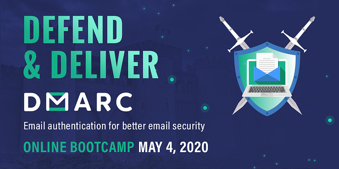 DMARC  Bootcamp - Twitter Image - Option 1